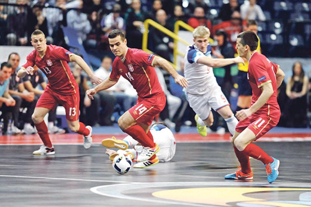 U RAT ZA BRONZU: Futsal reprezentacija Srbije igra istorijsku utakmicu