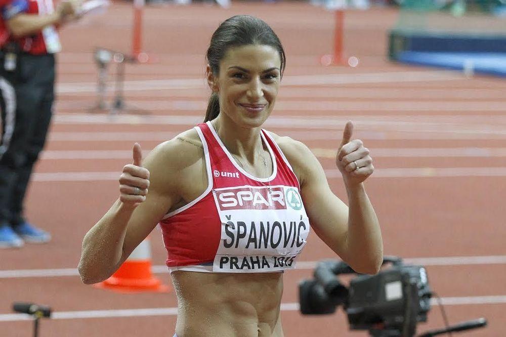 ODLIČNA TRKA NA 60 METARA: Ivana Španović sve bliža nacionalnom rekordu