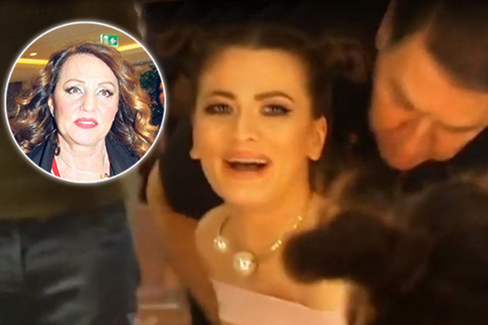 (VIDEO) ANI NEĆE BITI LAKO KAD VIDI ŠTA MRKA RADI Političar poljubio Milicu Pavlović gde niko ne sme