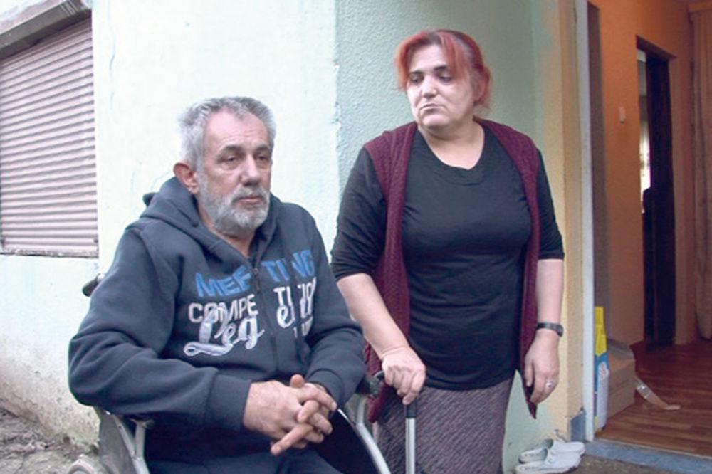 TUGA KOD TUTINA: Muž bez nogu, a žena bolesna, sakupljaju kišnicu da imaju vode!
