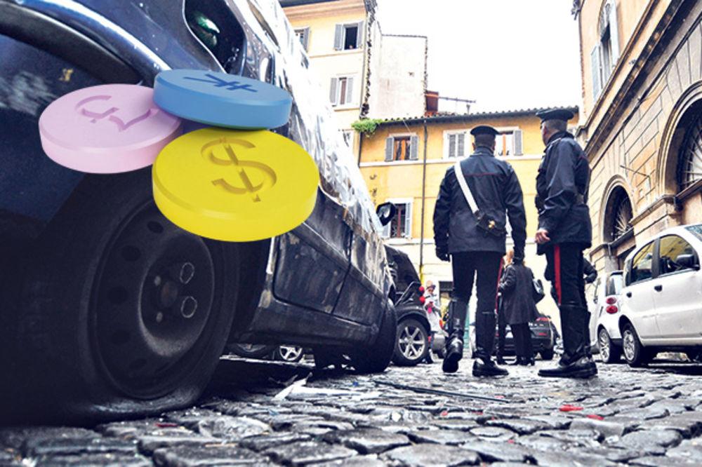 DROGA U GAĆAMA: Srbi krili ekstazi u donjem vešu, pohapšeni u Italiji!
