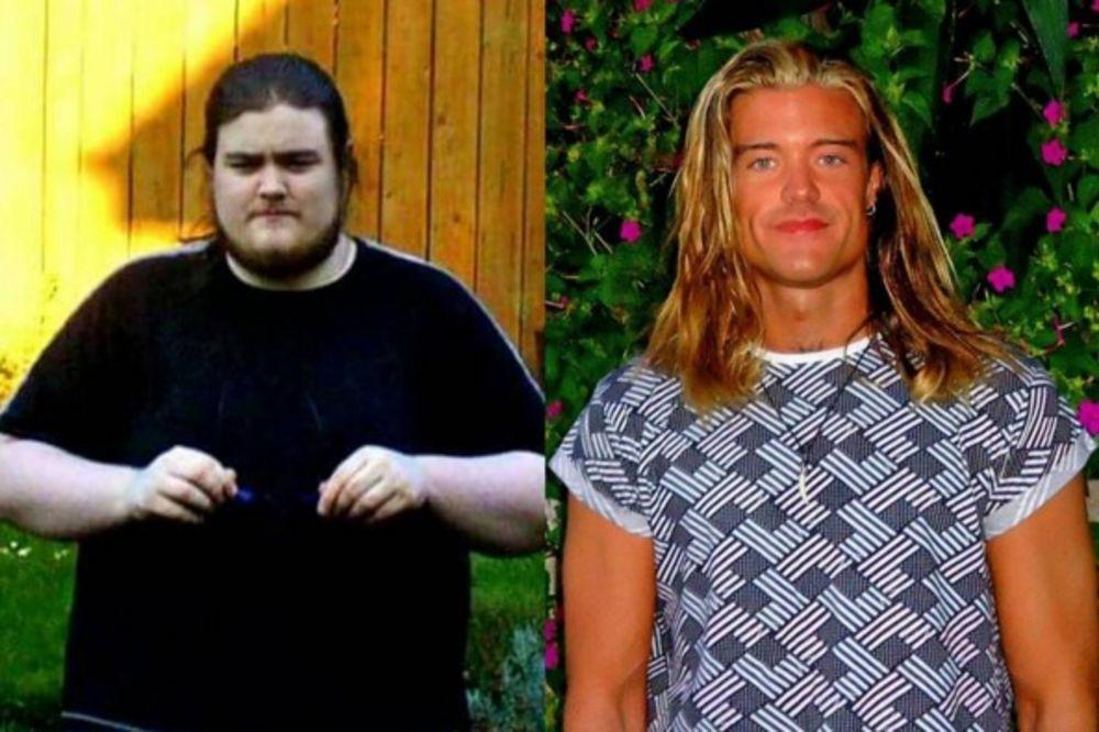 (VIDEO, FOTO) NEVEROVATNA TRANSFORMACIJA: Danas izgleda kao Bred Pit a nekada je imao 165 kg