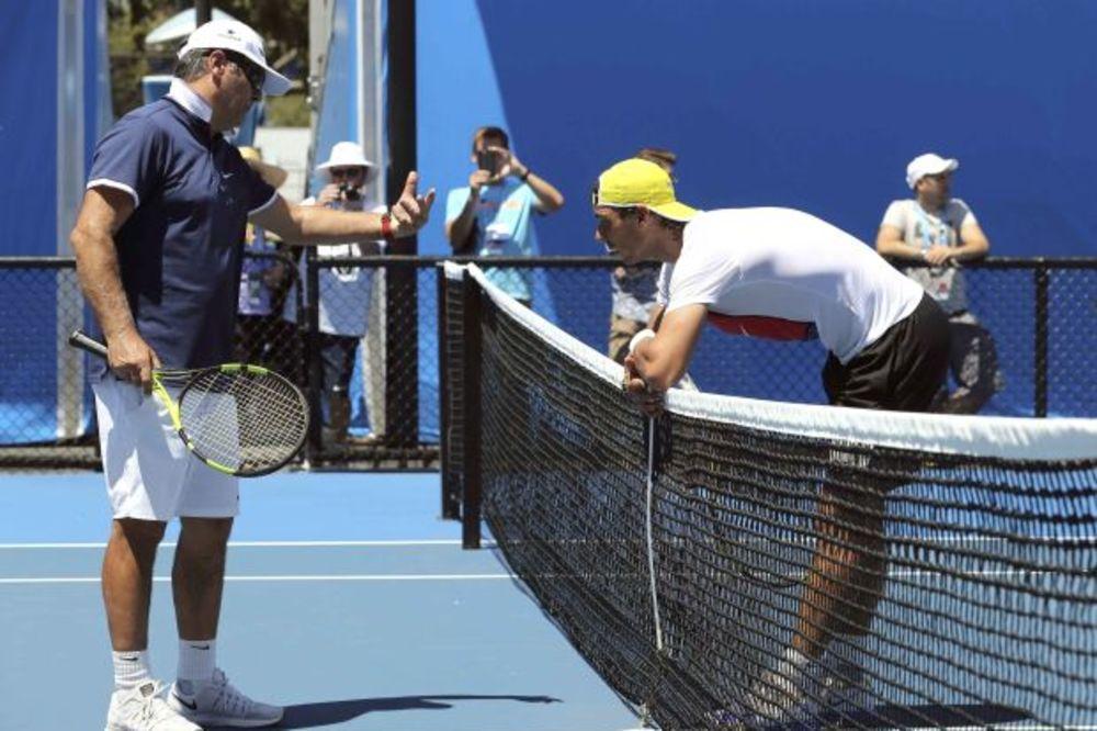 NADALOV TRENER ISKREN: Rafi bi bilo lakše bez Novaka, Federera i Mareja