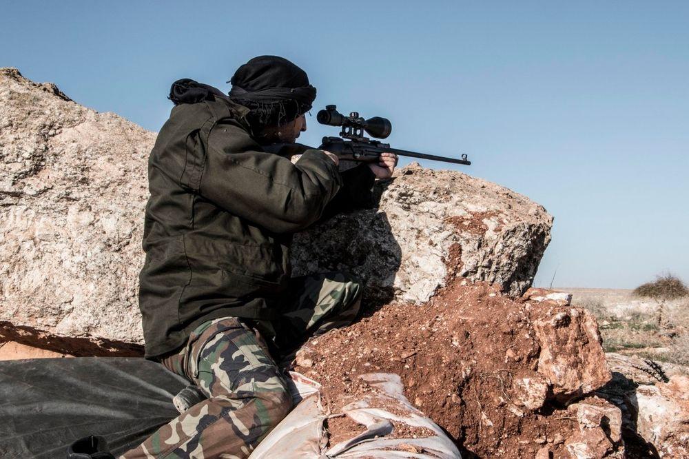 Snajperista, Sirija, Foto: Profimedia