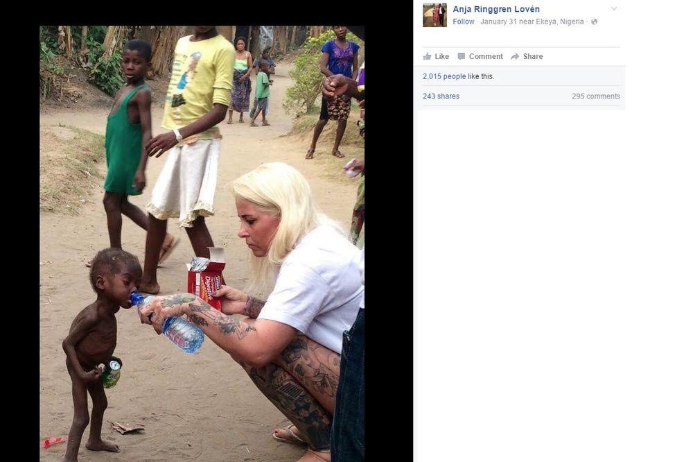 Spasavanje dečaka u Nigeriji Foto Printscreen Facebook