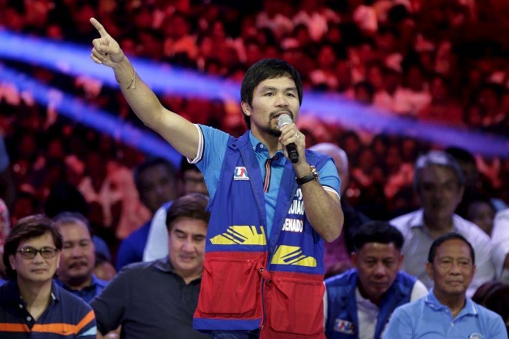 LEGENDARNI FILIPINAC SE VRAĆA U RING: Pakjao boksuje protiv Vargasa u novembru u Las Vegasu