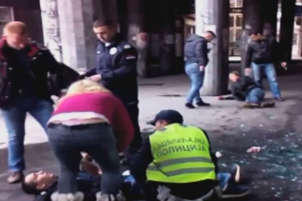 RAZBOJNIŠTVO U BEOGRADU: Migrant iz Iraka pokušao da  opljačka radnju, povređen policajac