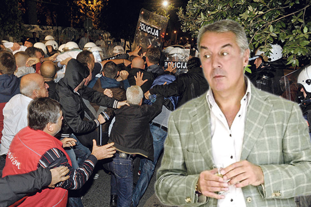 NASTAVLJA SE BUNT: Protesti zbog Mila Đukanovića 27. februara