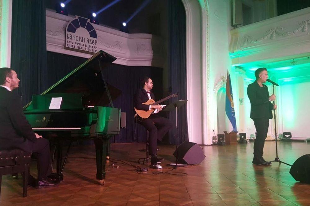 Željko Joksimović, humanitarni koncert, Banjaluka, foto: Promo