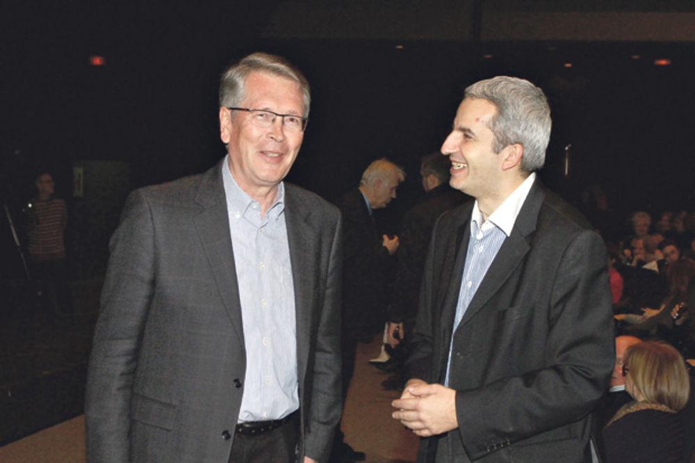 Aleksandar Čepurin i Andreja Mladenović