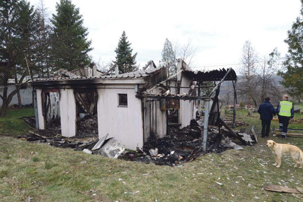 TUGA U BARAJEVU: Mladić izgoreo u montažnoj kući