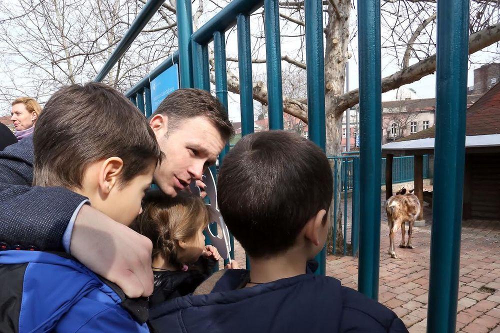 MALI: Ulaganjem u Beogradski zoološki vrt privlačimo nove posetioce  Vesti ...