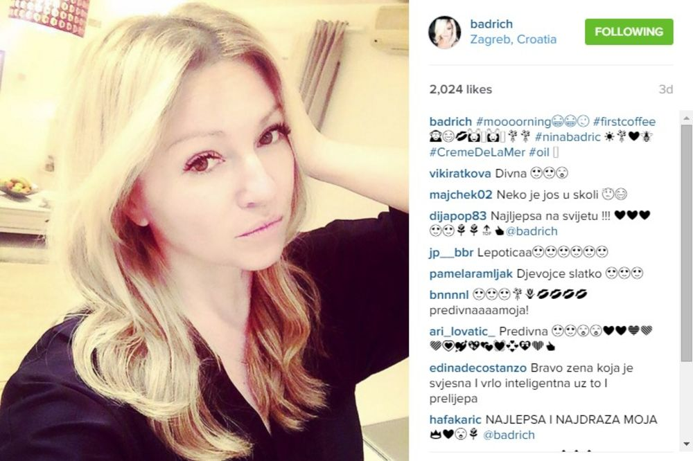 (FOTO) NINA BADRIĆ BEZ ŠMINKE: Pevačica pokrenula lavinu komentara