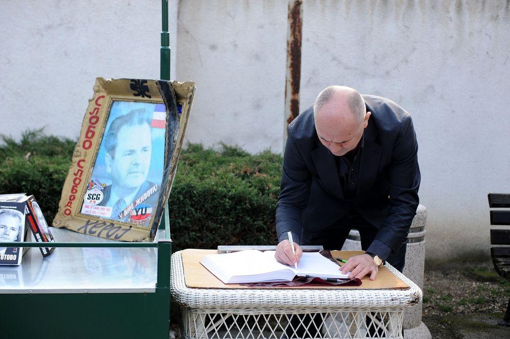 Obeležavanje godišnjice smrti Miloševića (Foto: Zorana Jevtić)