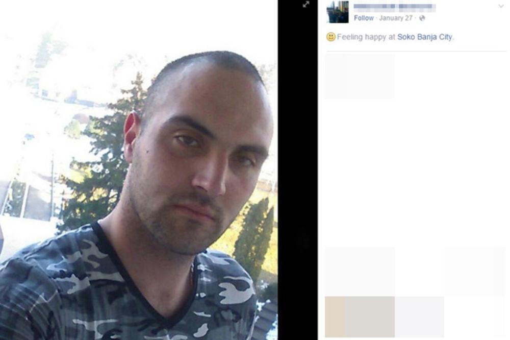 Osumnjičeni Nikola B. (Foto: Facebook)