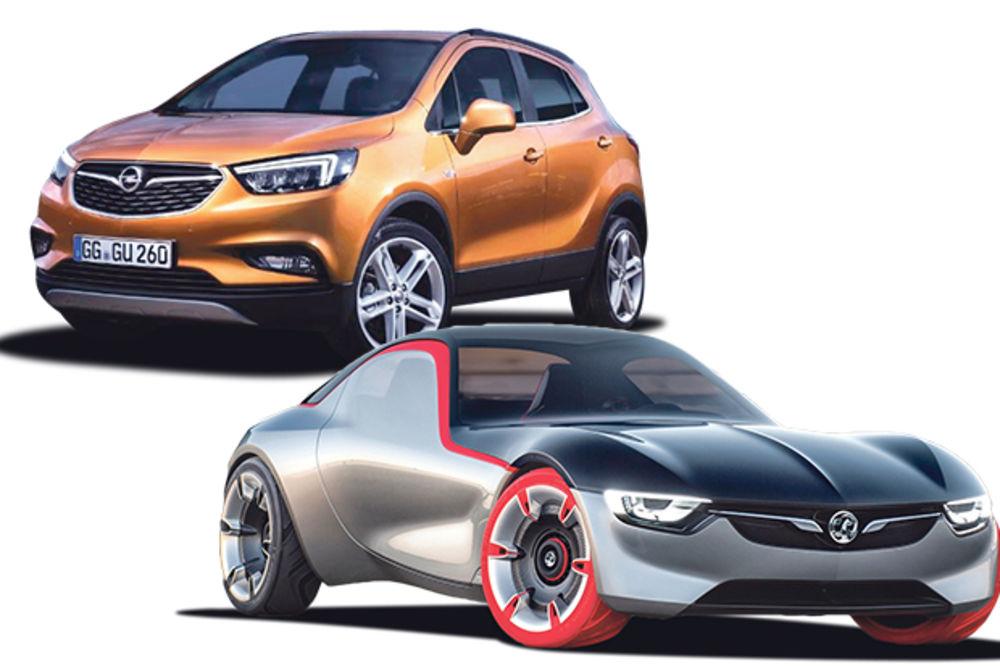 OPELOVA ZELENA KONJICA ZA ŽENEVU: Novi motor za astru, lasiranje koncepta GT i moke X!