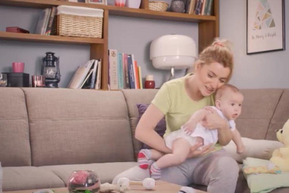 Andjelka, beba, foto Printscreen