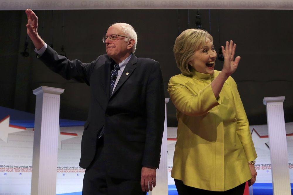 NEDOSTIŽNA PREDNOST HILARI: Kandidatkinja demokrata ubedljiva u odnosu na Sandersa