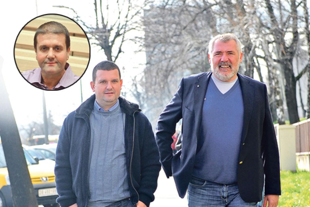 Duško Šarić, Darko Šarić, foto Zorana Jevtić, Dado Đilas