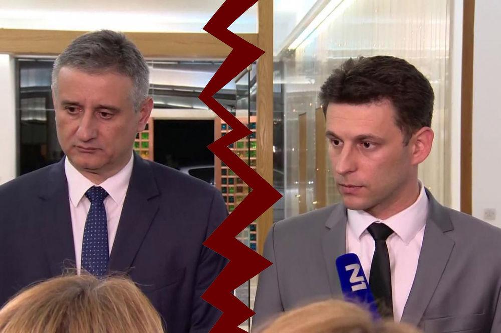 RAZDOR U VLADAJUĆOJ KOALICIJI Petrov: Karamarko mora da ode, glasaćemo za njegovu smenu!