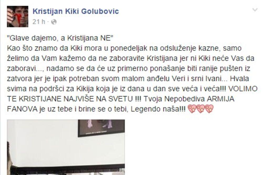 FACEBOOK ZAGLUPLJUJE -biseri sa Facebooka  - Page 8 Kristijan-golubovic-fanovi-poruka-zatvor-foto-prinskrin-fb-1457095892-856723