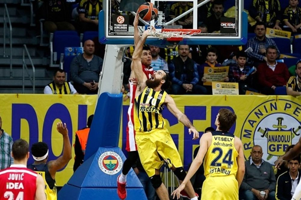 (VIDEO) ISTANBUL NEOSVOJIV ZA CRVENO-BELE: Zvezda i četvrti put u sezoni izgubila od Fenerbahčea