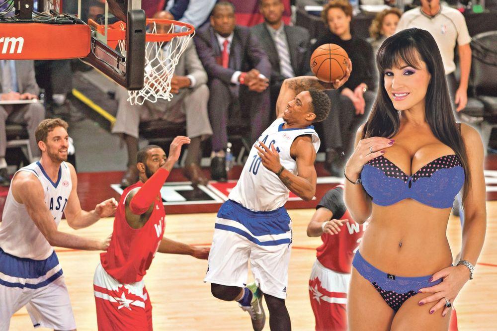 ČUVENA LISA EN OTKRILA TAJNU: NBA zvezde u kandžama porno-diva!