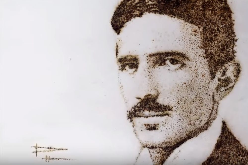 (VIDEO) PORTRET DOSTOJAN NIKOLE TESLE: Pogledajte čime je naslikan neprikosnoveni genije