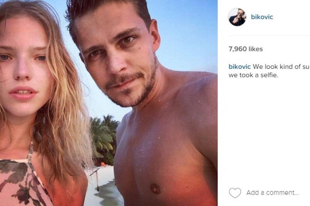(FOTO) VATRENA RUSKINJA ZAPALILA INTERNET: Bikovićeva devojka u strasnom poljupcu sa ženom