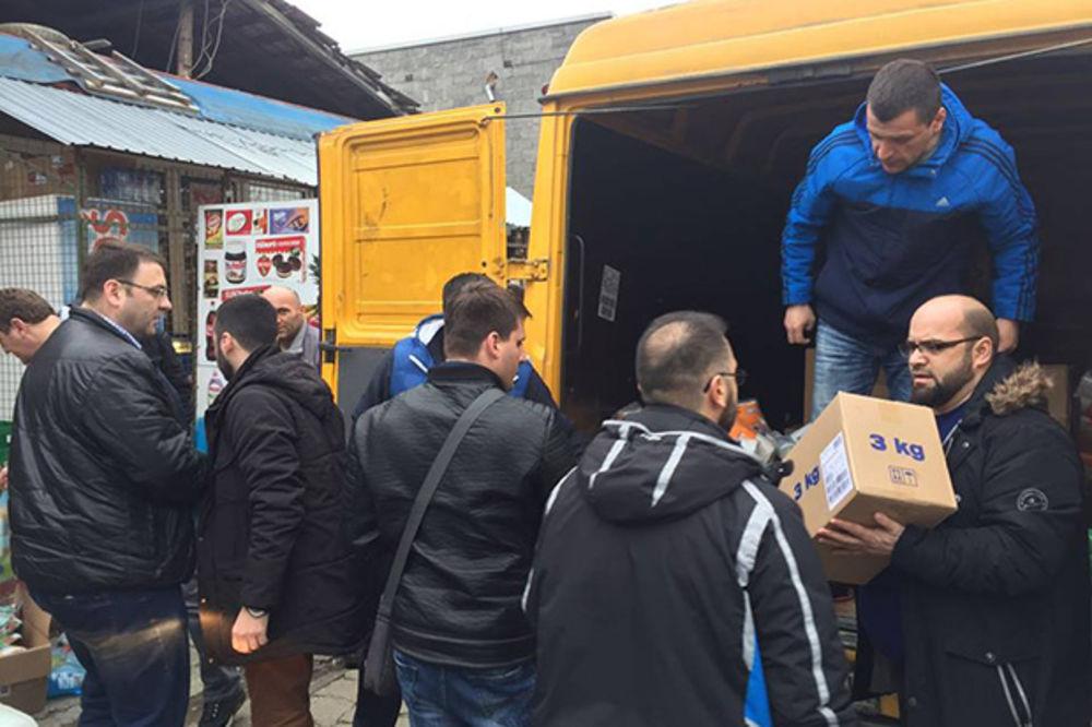 Novi Pazar, poplave, pomoc, Foto Senko Župljanin