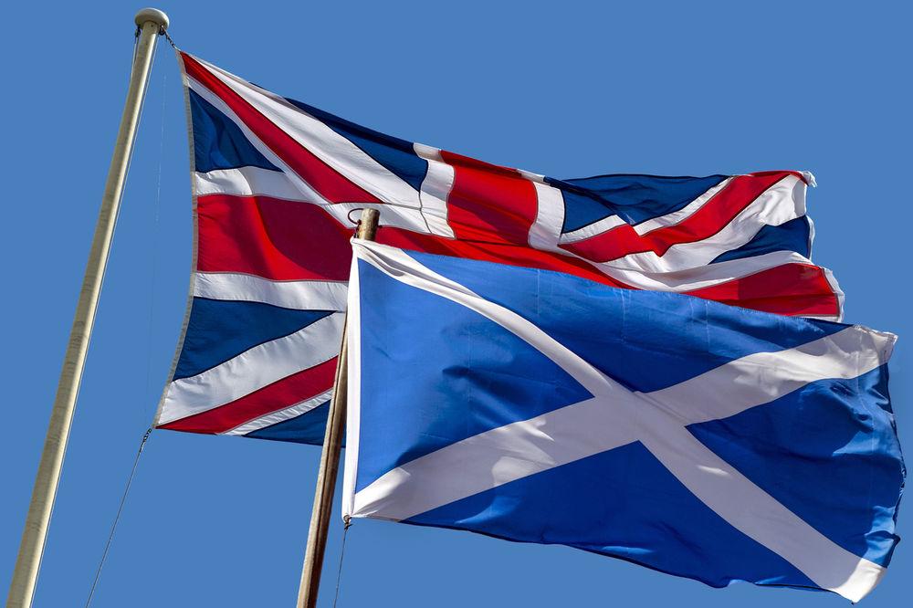 IZAŠLI NA ULICU: Škoti ponovo traže referendum za izlazak iz Britanije