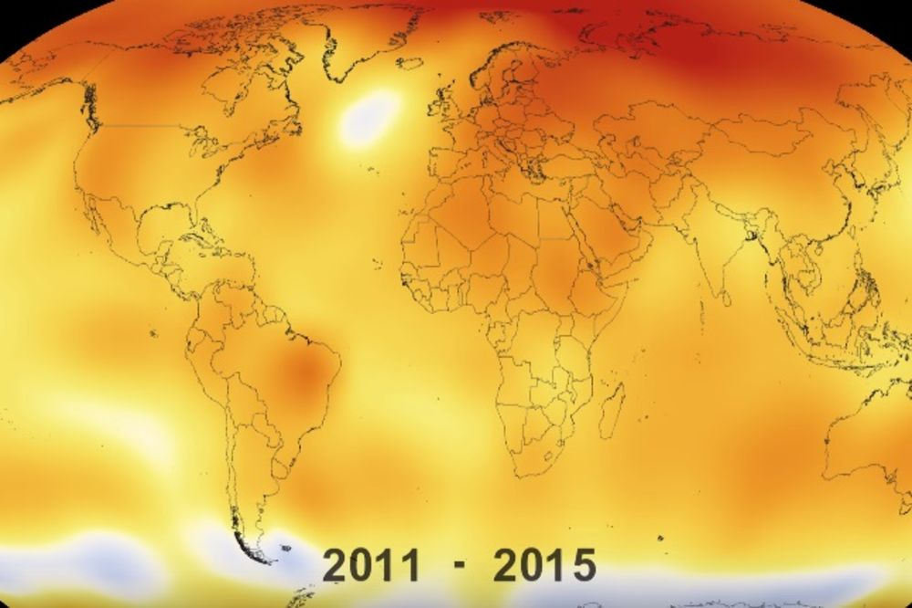 NASA UPOZORAVA: Ovaj februar je bio najtopliji do sad, a tek nas čeka pakleni talas!