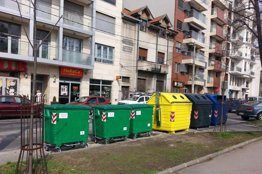 RECIKLAŽA: Nišlije dobijaju besplatne kante za reciklažni otpad