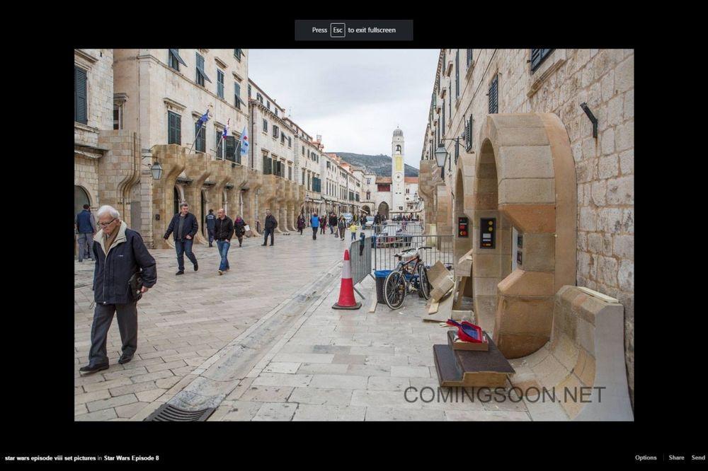 (FOTO) VANZEMALJCI MEĐU HRVATIMA: Novi Ratovi zvezda dolaze u Dubrovnik