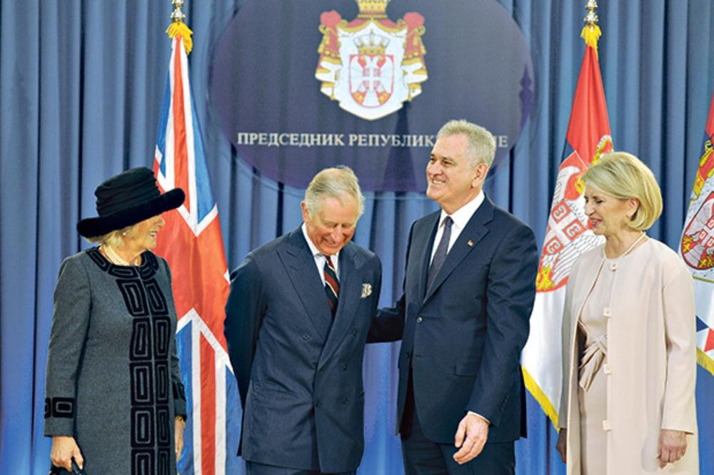 Princ Čarls s Nikolićem pričao o Putinu, ali ga je oduševila srpska istorija