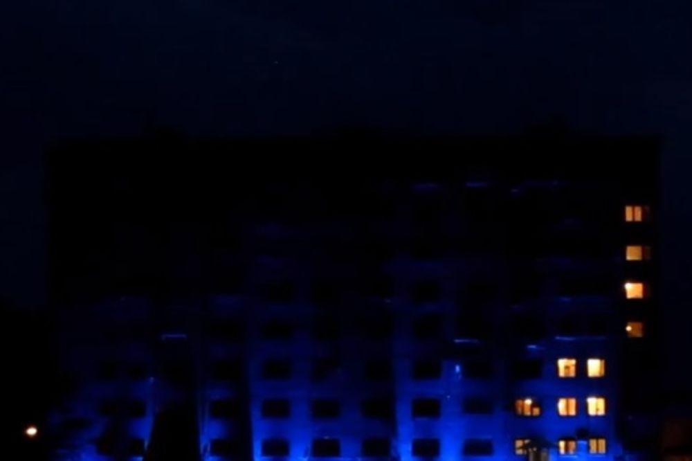 (VIDEO) ODUŠEVILI SVE U PULI: Ovako se igra tetris na zgradi