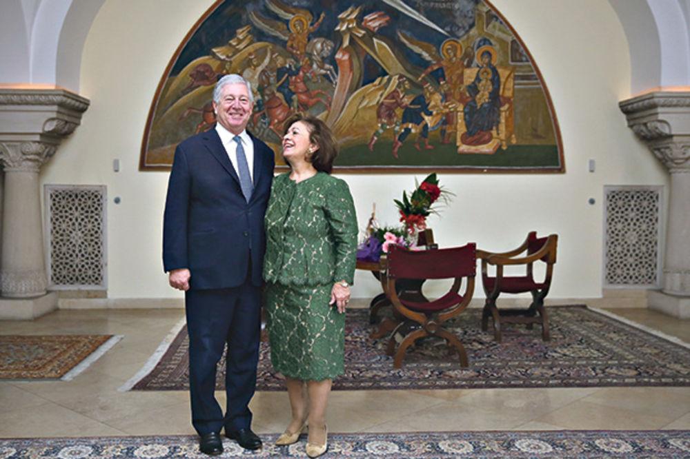 Prestolonaslednik Aleksandar i Princeza Katarina na rođendanu Kralja Karla XVI Gustava od Švedske