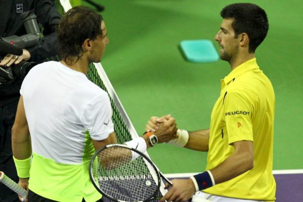 Novak Đoković, Rafael Nadal, Foto: Reuters