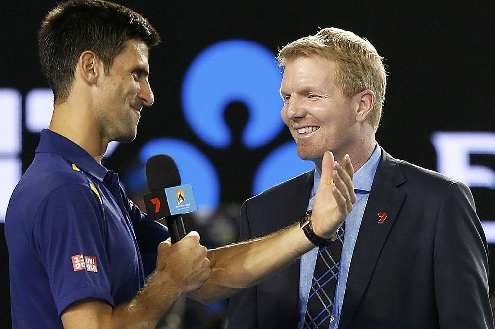 Novak Đoković, Džim Kurijer, foto: Reuter