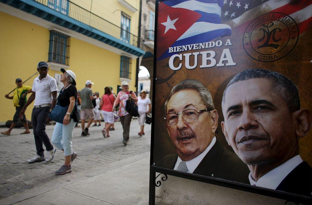 Obama Kuba. Foto: Reuters, 18.03.2016.