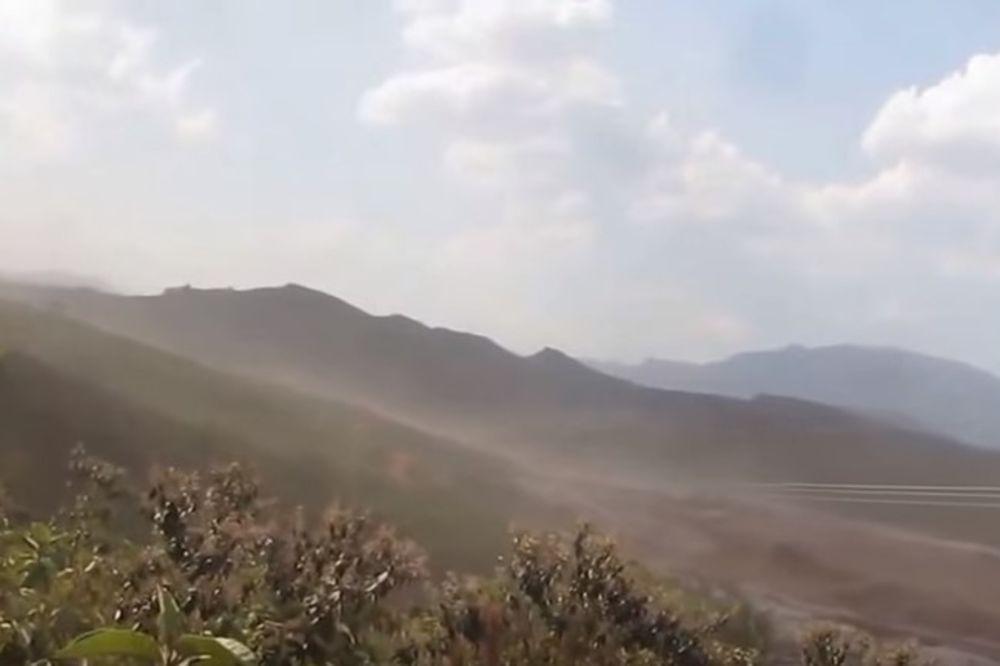 IZBEGAO SMRT: Brazilac snimio dramatično bekstvo posle pucanja brane