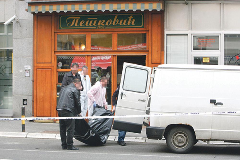Vladimir Milošević, ubio se, razneo se, bomba, samoubistvo, poslastičarnica Petk