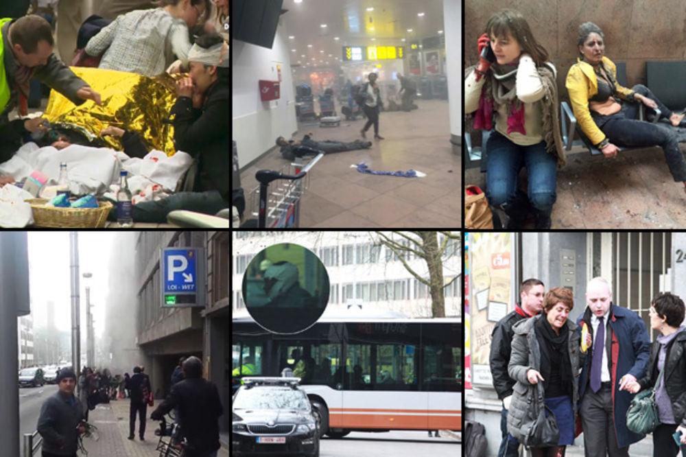 Teroristički napad, Brisel, aerodrom, metro foto Rojters, Dragana Udovičić