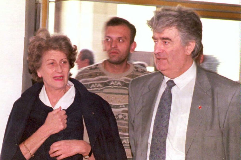 predsednica ,Republike Srpske, Biljana Plavšić , radovan karadzic, hag, haski tribunal