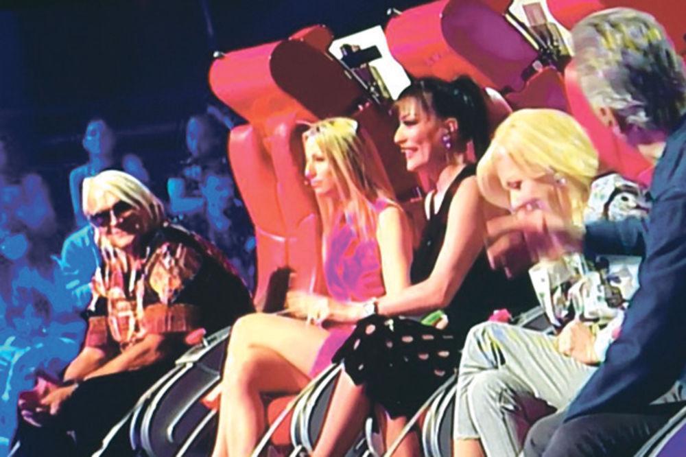 Uskočila... Rada u Harisovoj stolici