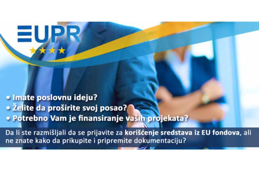 EUPR  tenderi d.o.o.  – Obezbedite sigurna finansijska sredstva za Vaše poslovanje  iz EU fondova