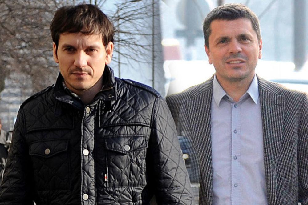Marko Mišković, Milo Đurašković foto Kurir