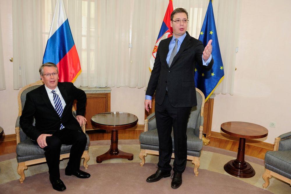 Российский посол на встрече с сербским премьером: о приговоре Караджичу, о нейтралитете и НАТО