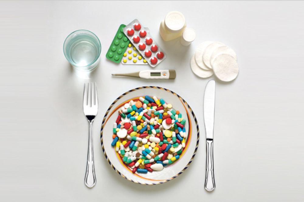 Lekovi, hrana i piće: Šta se sa čime slaže