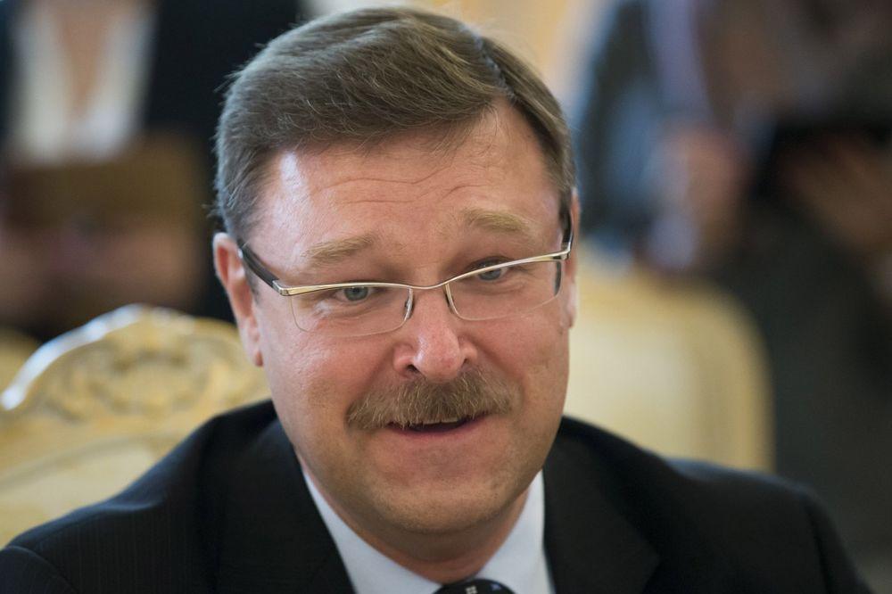 KOSAČEV: Moskva zahvalna što Srbija odoleva pritiscima da uvede sankcije Rusiji